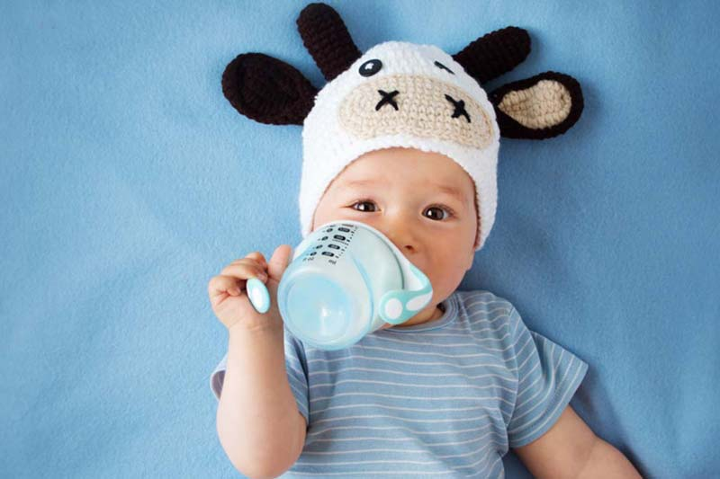 cavities baby with bottle dental advice