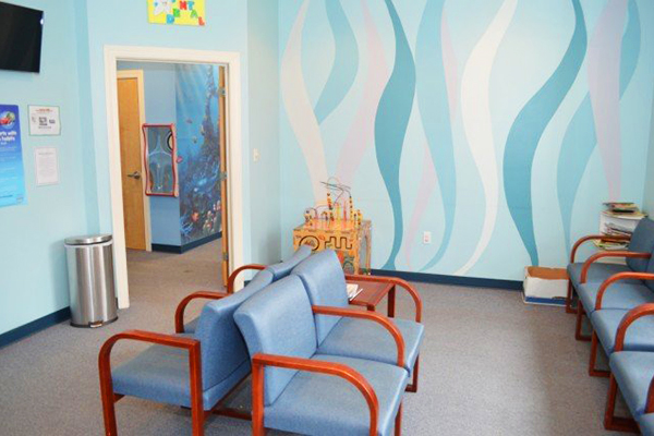 greg denton pediatric dentist waiting area
