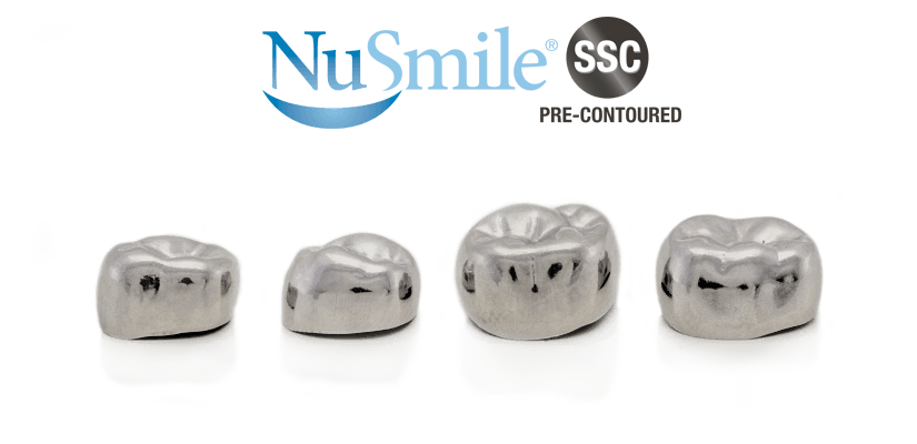NuSmile SSC Pre-contoured stainless steel crowns