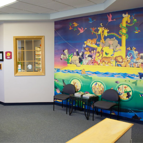 stacey zaikoski pediatric dentist waiting room